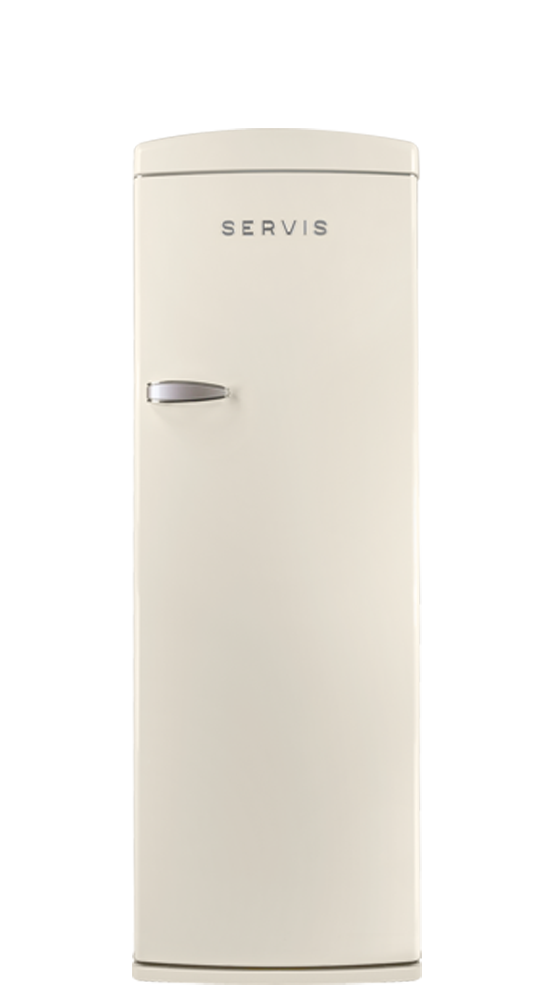R60170C - Classic Cream - Retro Fridge