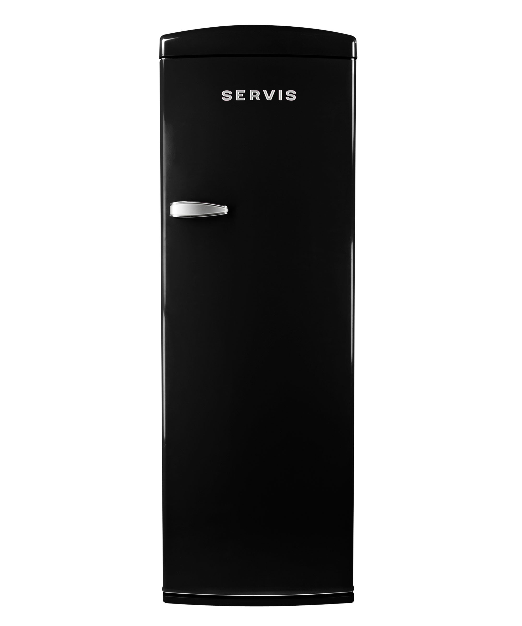 R60170B - Jet black - Retro Fridge