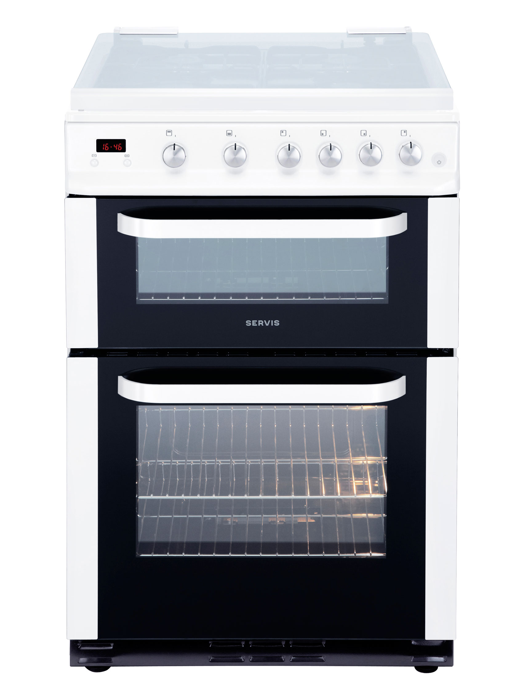 DG60W - White - Gas Cooker