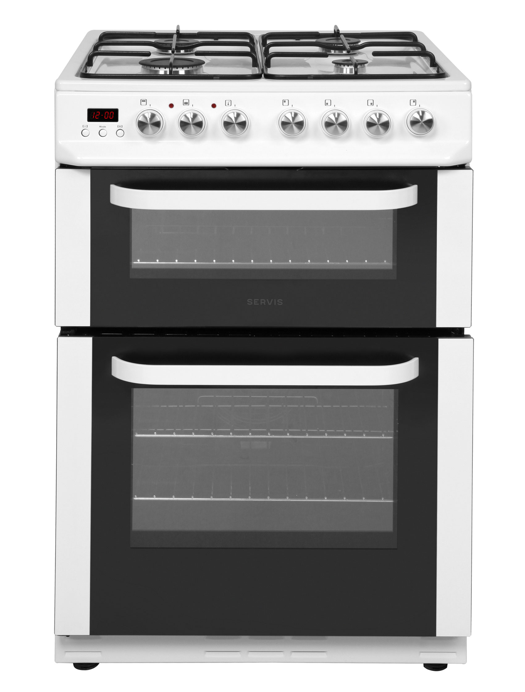 DD60W - White - Dual Fuel Cooker