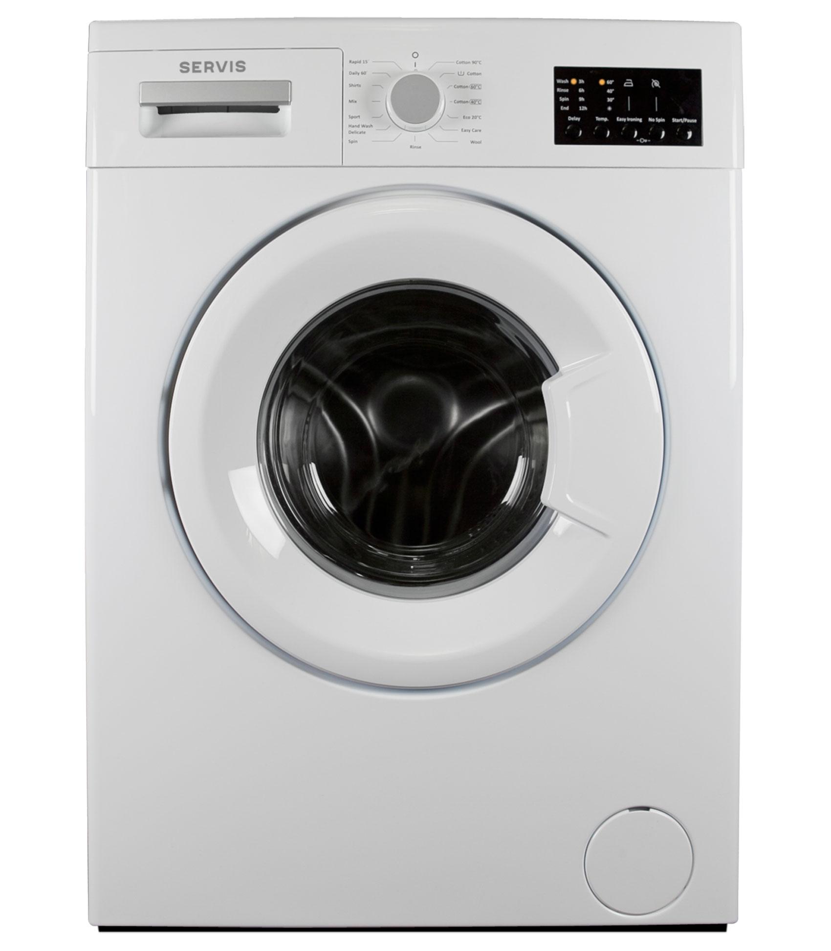 Servis W61244F2AW 6kg Washing Machine