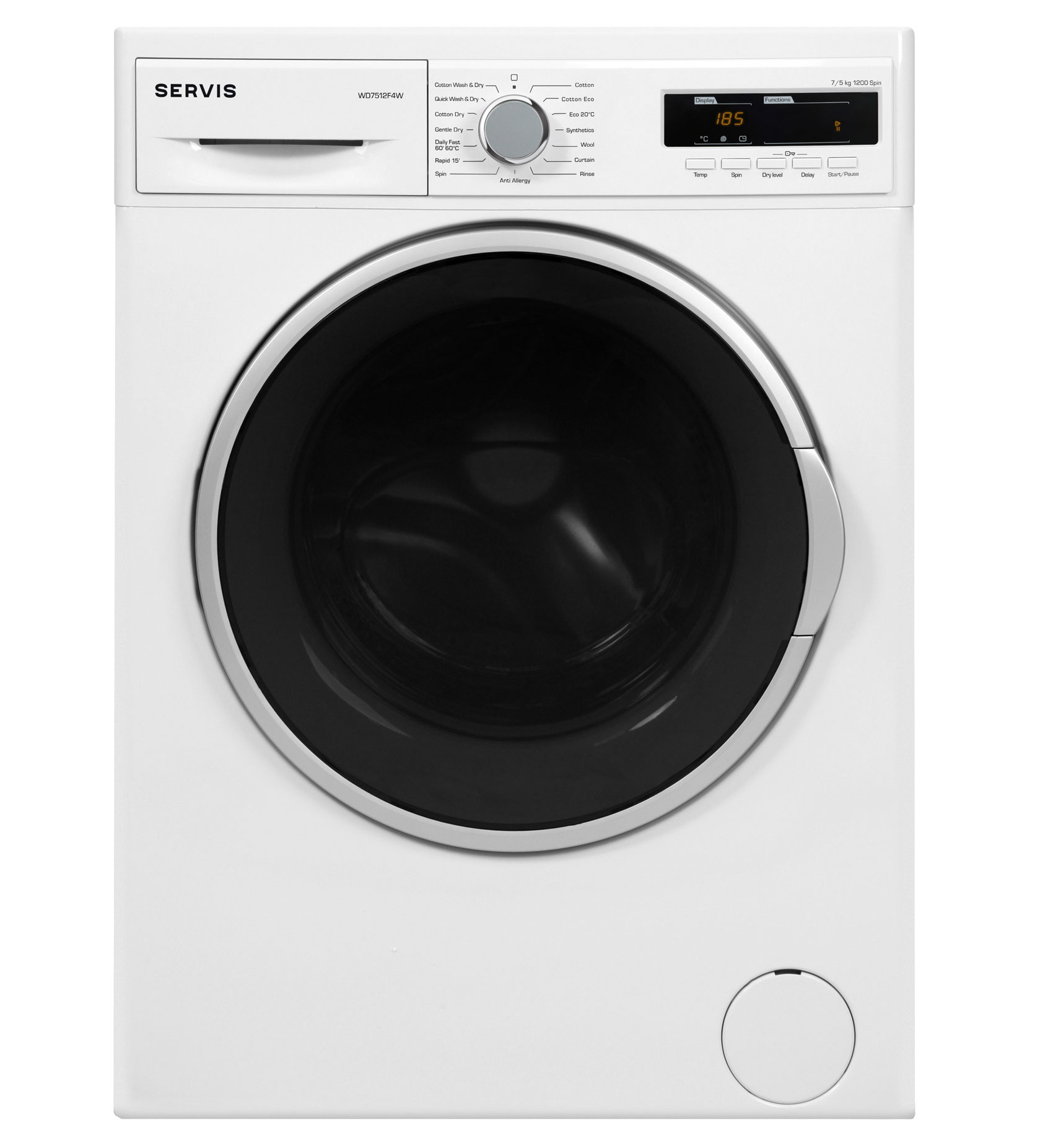 WD7512F4W - 7kg - Washer Dryer