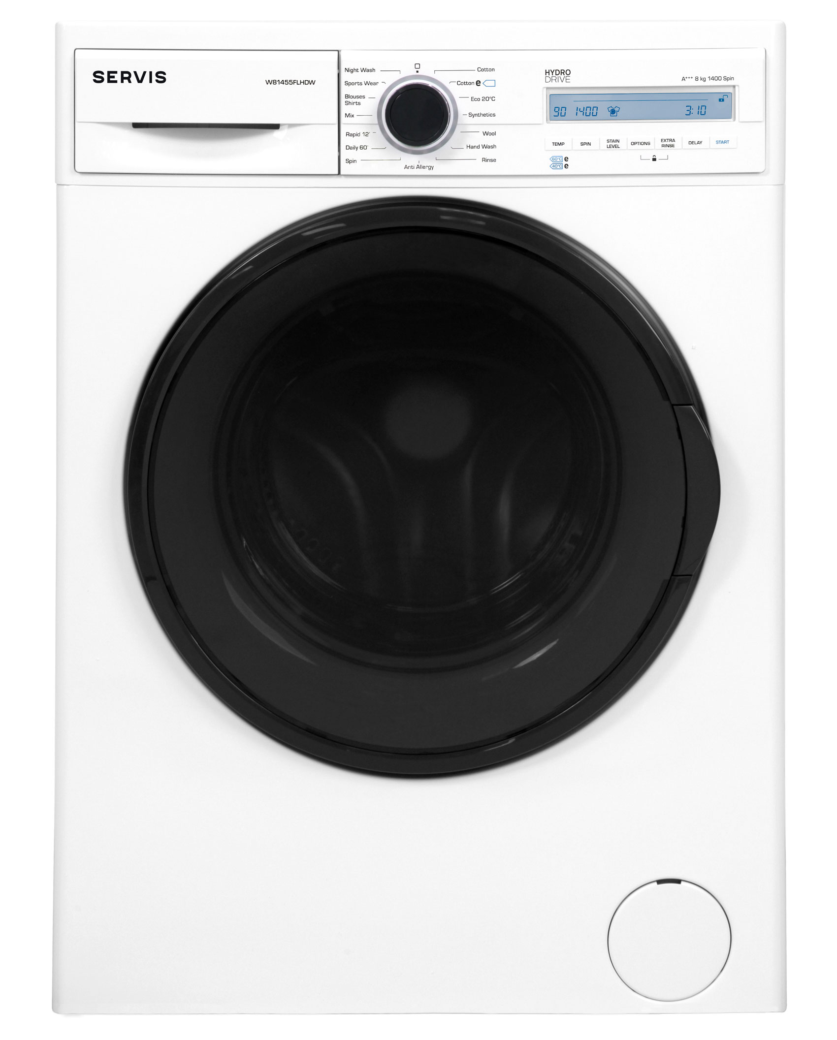 W81455FLHDW - 8kg - Washing Machine