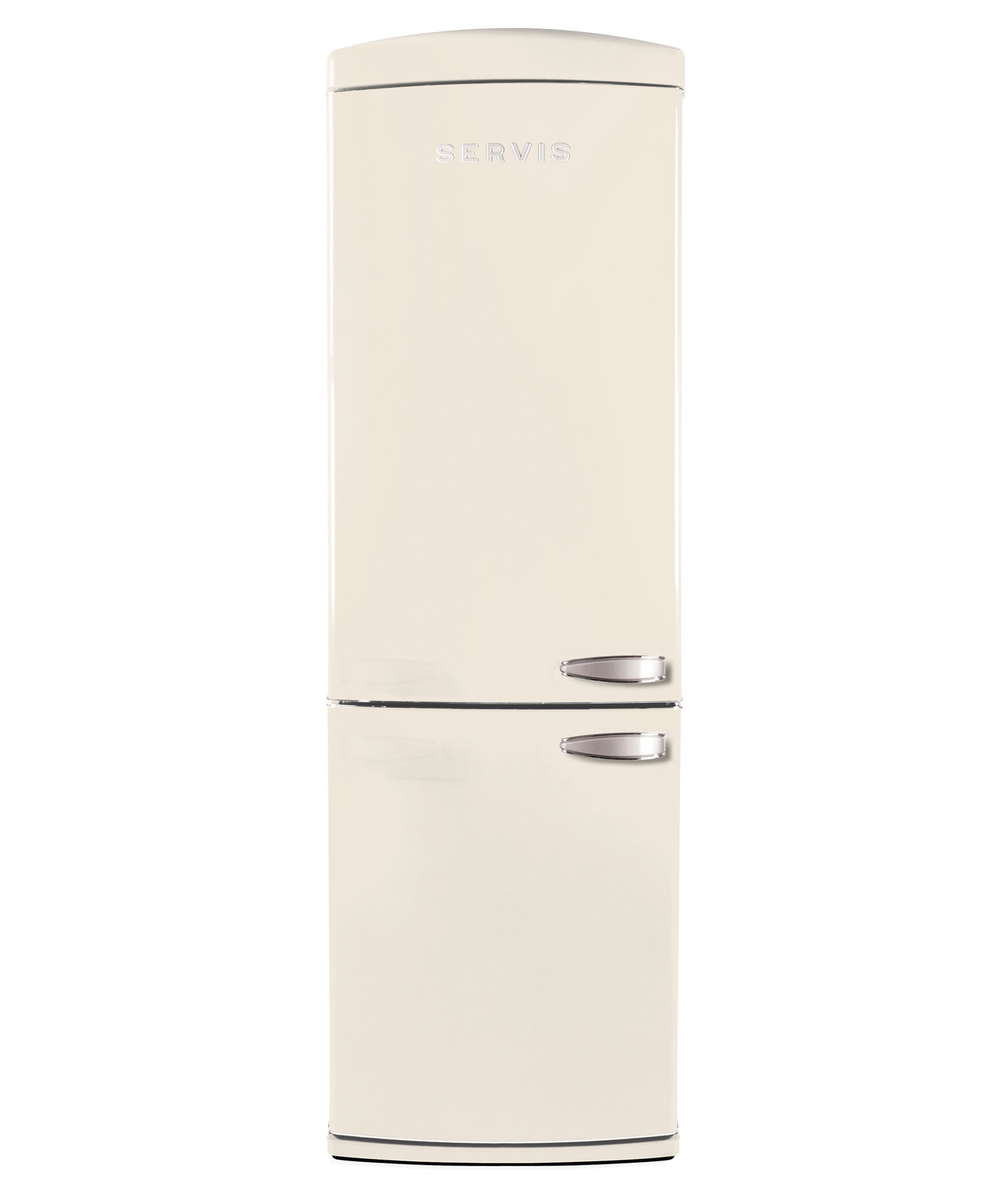 C90185RETROC-L - Left Hand Hinge Retro Cream Fridge Freezer