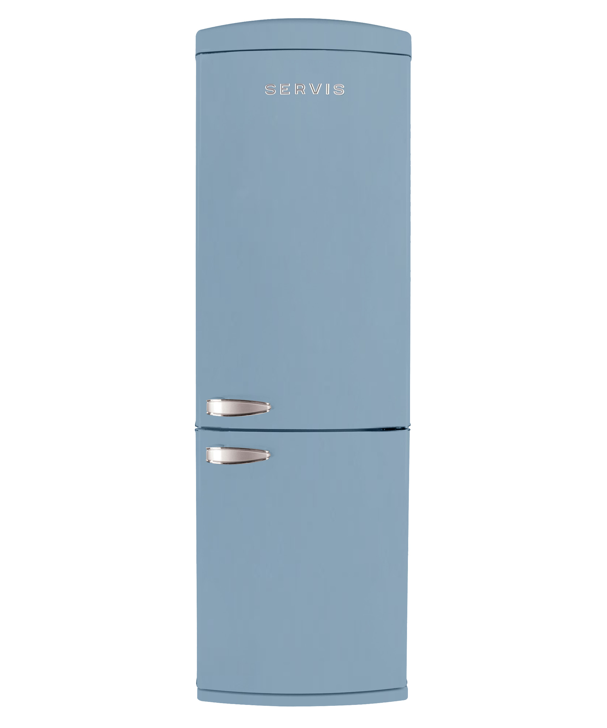 C90185RETROP - Pale Blue - Retro Fridge Freezer