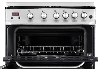 how to clean top of oven with grill